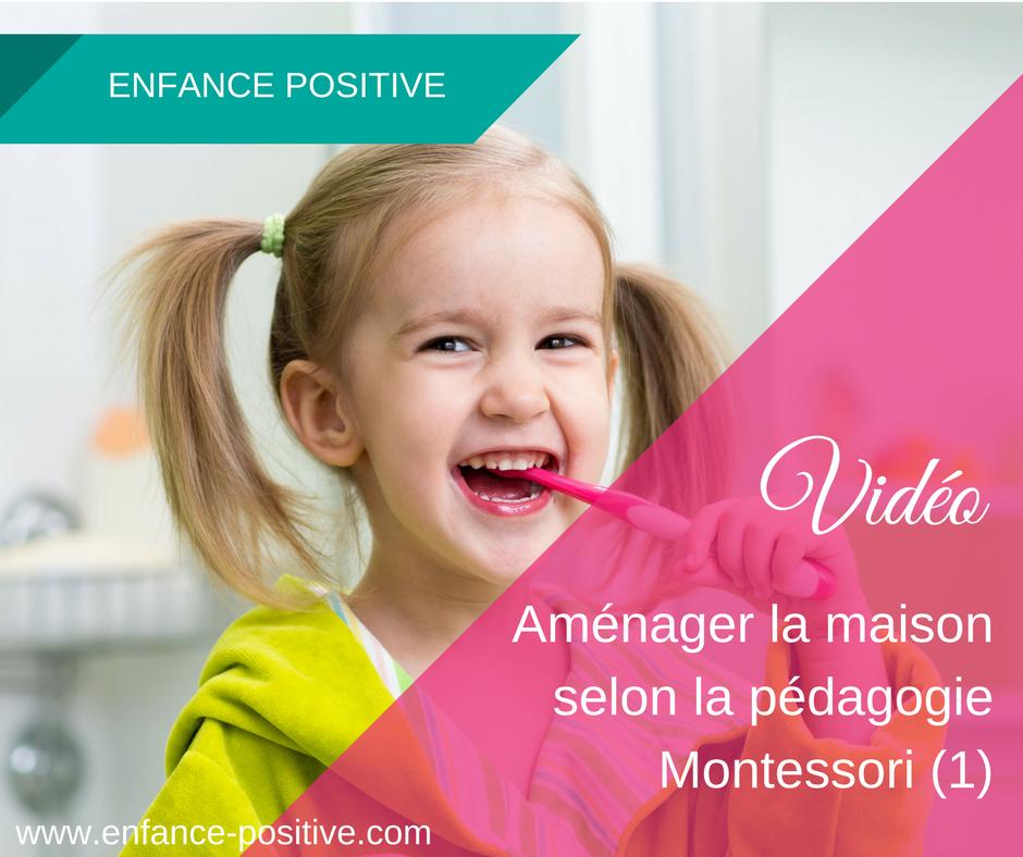 Aménager la maison selon la pédagogie Montessori