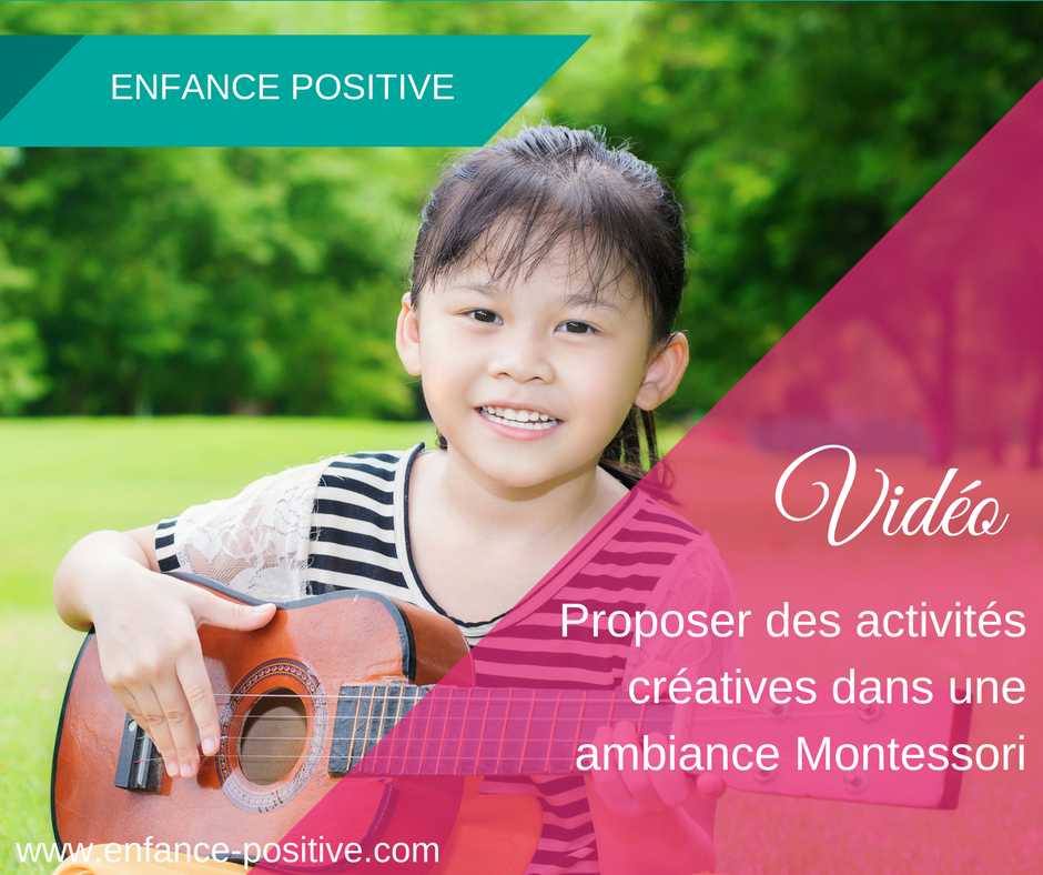 Des activités créatives dans une ambiance Montessori