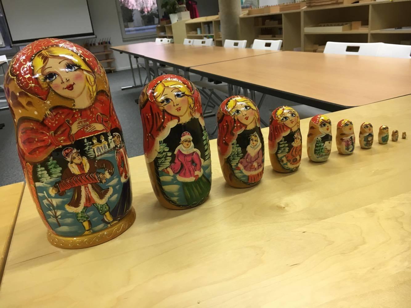 Oh les jolies poupées russes !