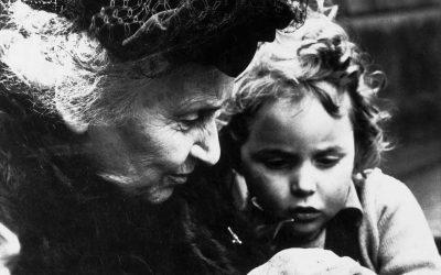 L'Enfant Nouveau, conférence de Maria Montessori