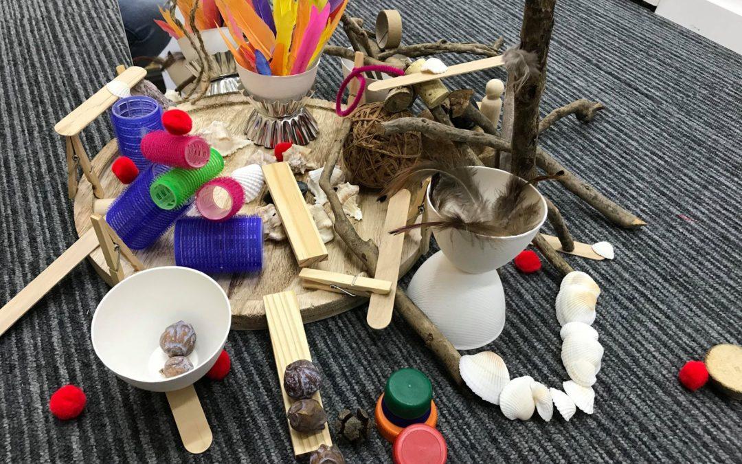 Montessori et Loose Parts, comment les mixer?