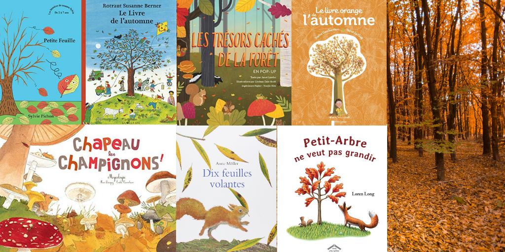 Sélection de livres sur l'automne