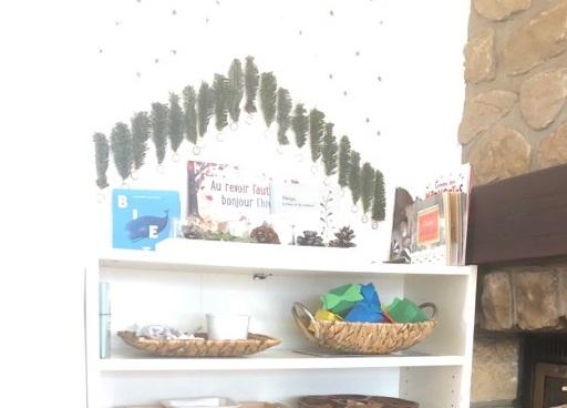 Notre étagère thématique d'hiver